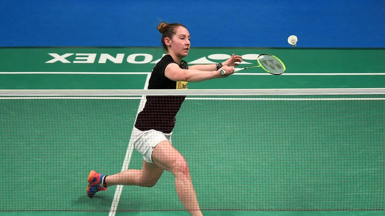 Kirsty Gilmour will line-up for her third Commonwealth Games