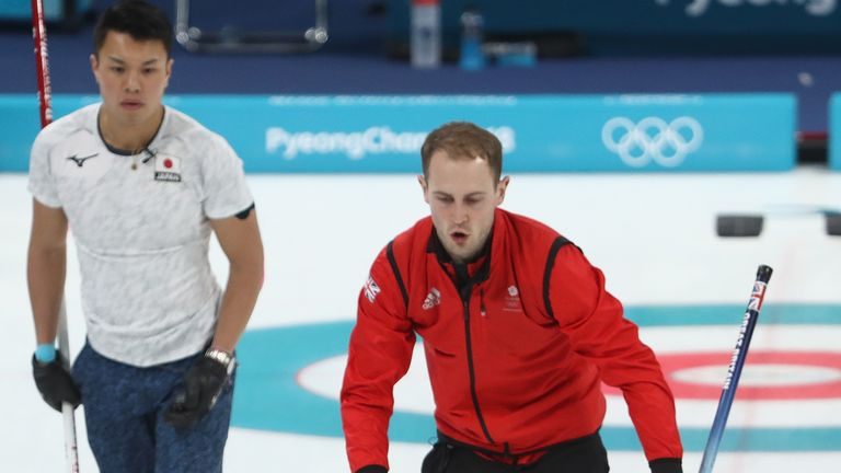 GB's men beat Japan in a tense round-robin win