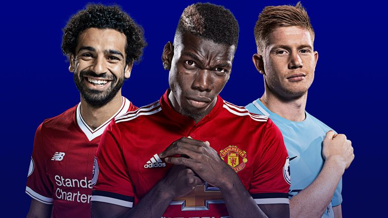 Big clashes involving Liverpool, Manchester United and Manchester City will be live on Sky Sports in April