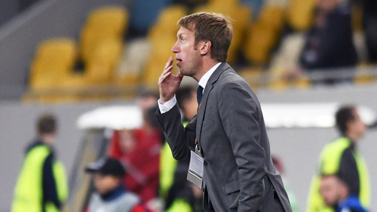 Graham Potter put Ostersunds into the Swedish top-flight for the first time in their history.