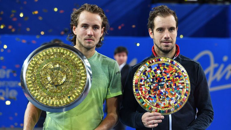 There was an all-French final in Montpellier