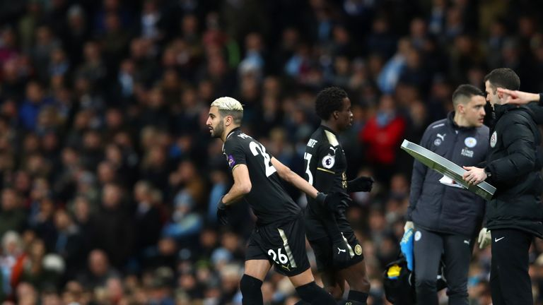 Mahrez was a 62nd-minute substitute at the Etihad Stadium on Saturday
