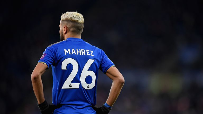 Leicester turned down a £60m bid for Mahrez from Man City on Deadline Day
