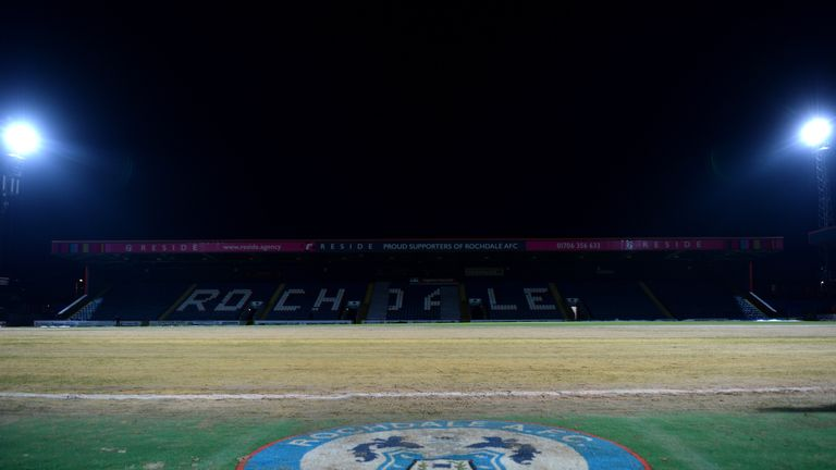 Pochettino had raised concerns about the state of the pitch at Spotland