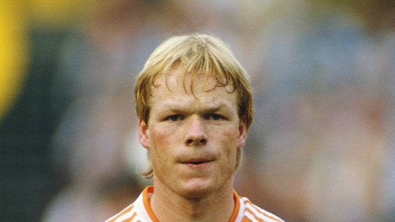 Koeman represented the Netherlands between 1982 and 1994