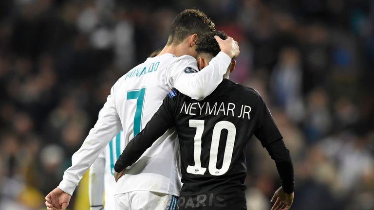 Ronaldo upstaged Neymar on a night when PSG needed their talisman to shine