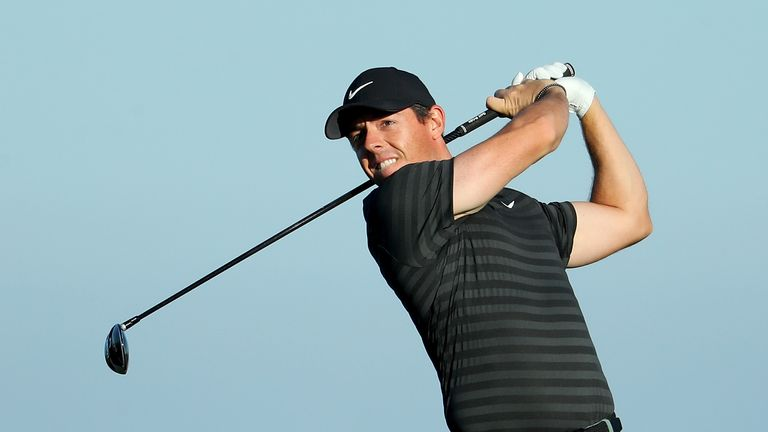 McIlroy is looking to bounce back from a missed cut last week
