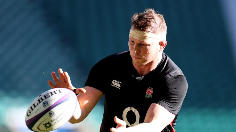 Dylan Hartley is ready to return to action on Friday