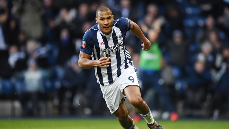 Salomon Rondon's proposed move to Newcastle is understood to have stalled