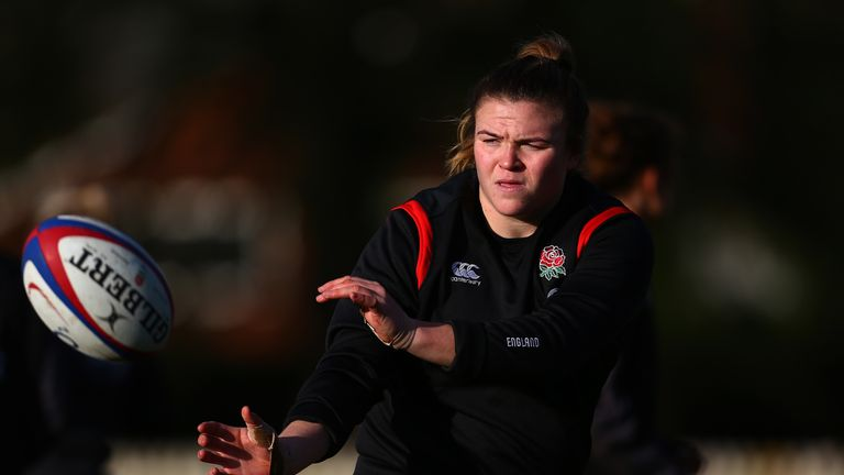 England top the Women's Six Nations table on points difference from France