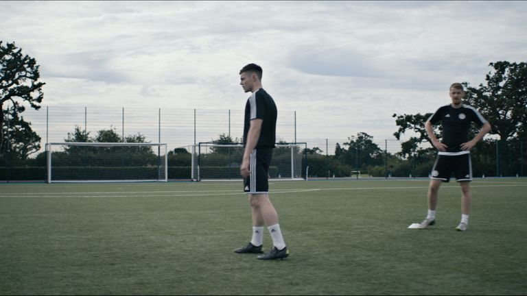 WONDERKID deals with themes of isolation and exclusion in professional football