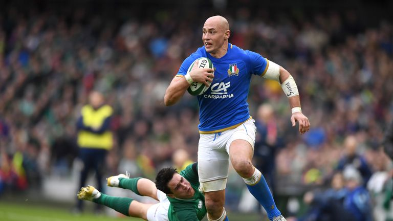 Sergio Parisse has come to embody Italy's resilience