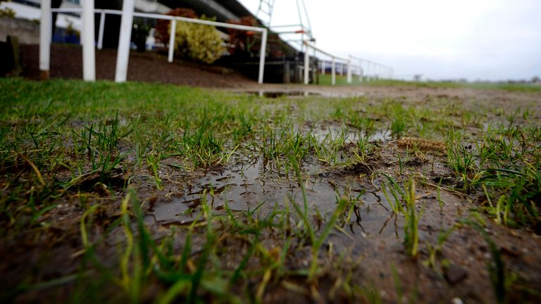 Waterlogging continues to claim meetings