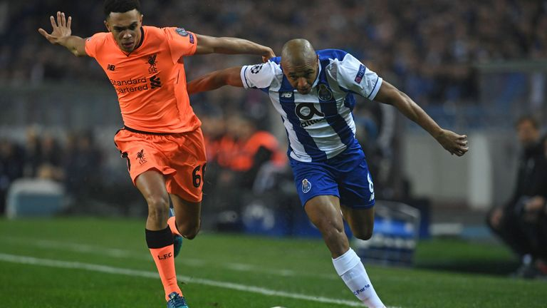 Porto's Yacine Brahimi could be in line for a move to the Premier League