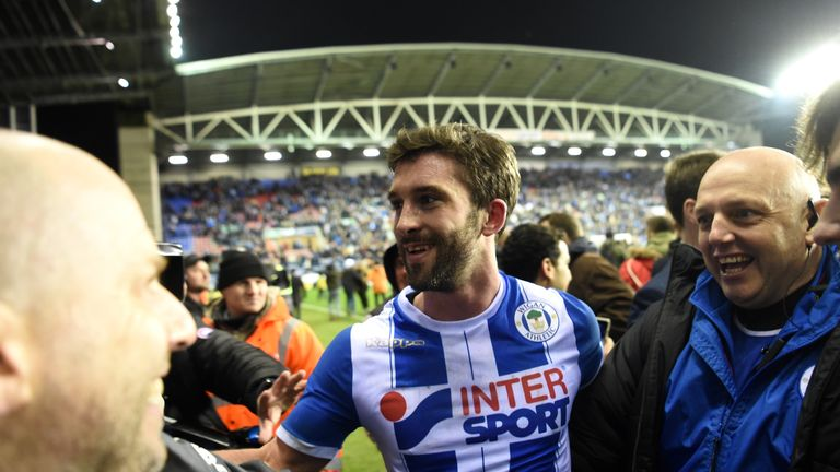 Will Grigg was the hero as his winning goal stunned the Premier League leaders