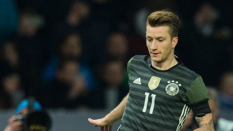 Reus last represented Germany two years ago, in a 4-1 friendly win over Italy