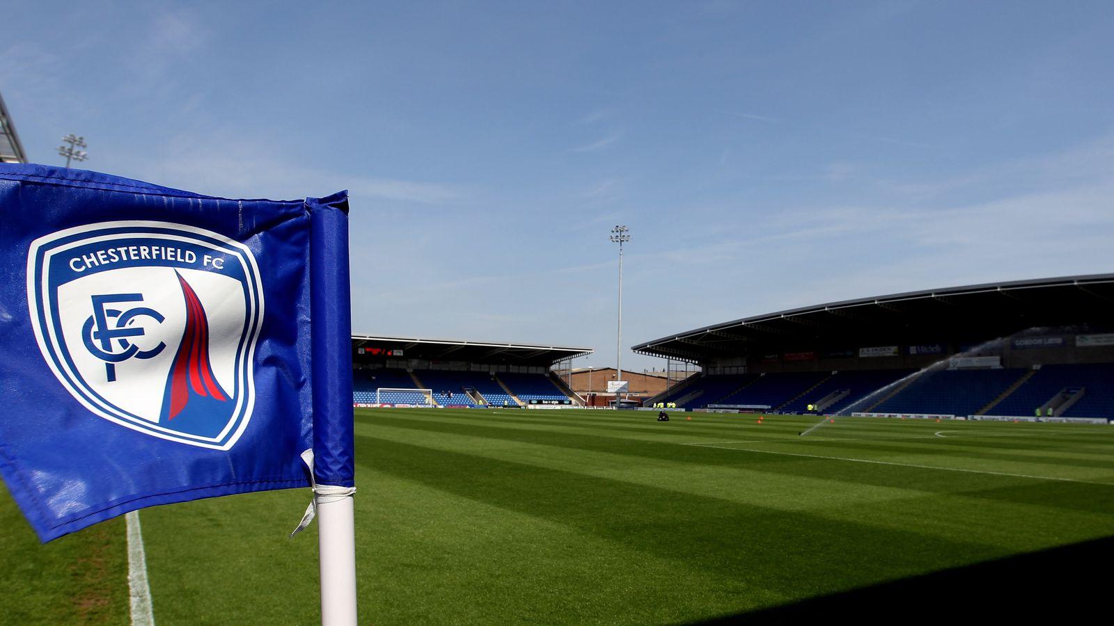 Coronavirus: Chesterfield critica la decisión de la Liga Nacional de seguir jugando | Noticias de futbol 1