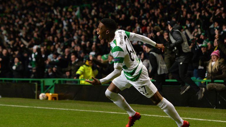 Charly Musonda has featured seven times for Celtic so far this season