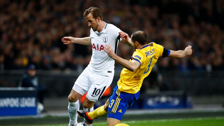 Spurs were knocked out by Juventus in the Round of of 16 in last season's Champions League
