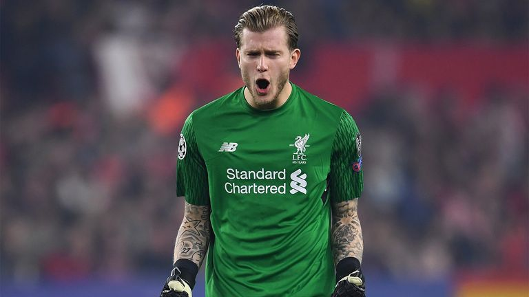 Karius has kept clean sheets in 50 per cent of the matches he has played for Liverpool this campaign
