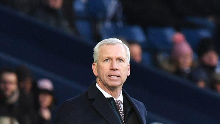 Alan Pardew has not sought assurances over his West Brom future
