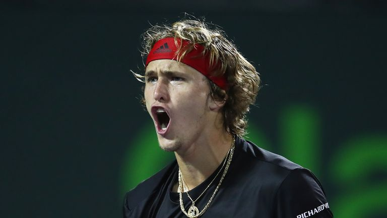 Zverev has the edge over Isner in their head-to-head record