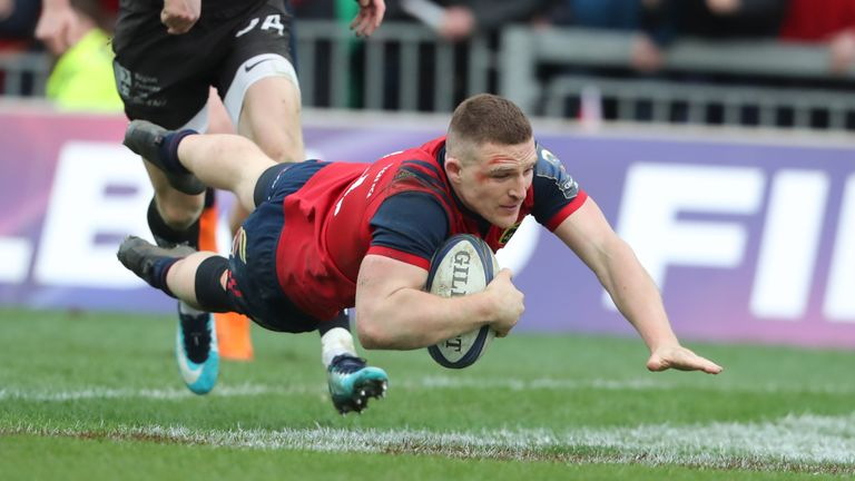 Andrew Conway scored a magnificent try to clinch victory