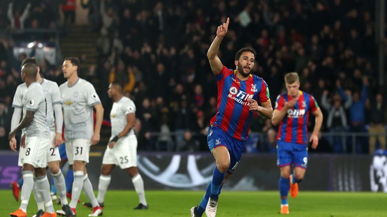 Andros Townsend could earn an international recall