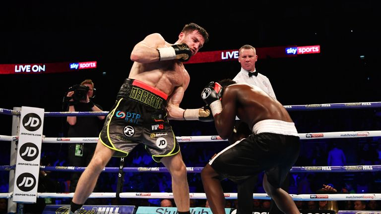 Fowler stopped previously unbeaten Kallilou Dembele at The O2 in March