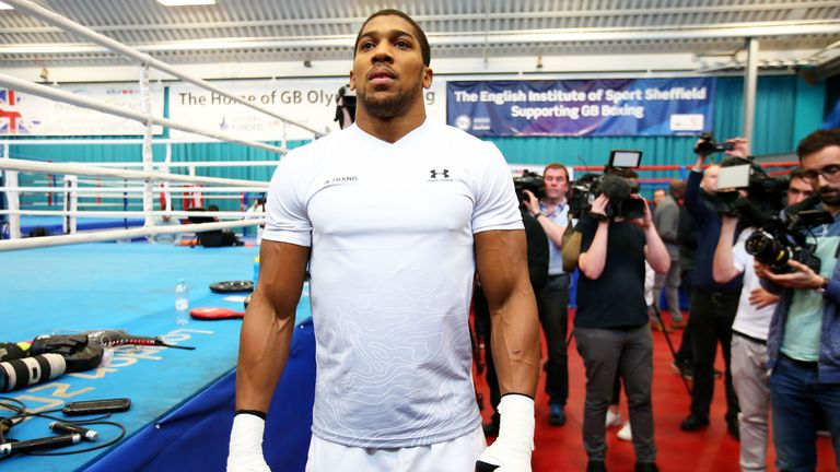 Anthony Joshua wants to prove himself as No 1 in heavyweight division