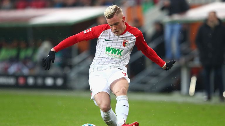 Philipp Max has 12 assists so far this season in the Bundesliga