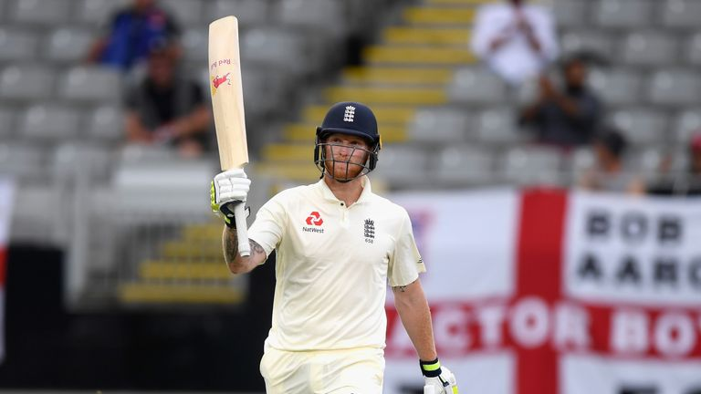 Ben Stokes during day five of the First Test Match between the New Zealand Black Caps and England at Eden Park on March 26, 2018 in Auckland, New Zealand.