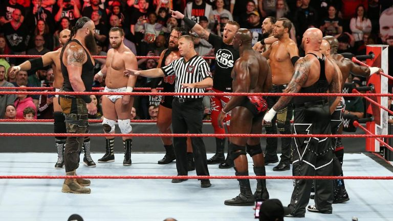 Braun Strowman entered - and won - a battle royal to find the number one tag team contenders