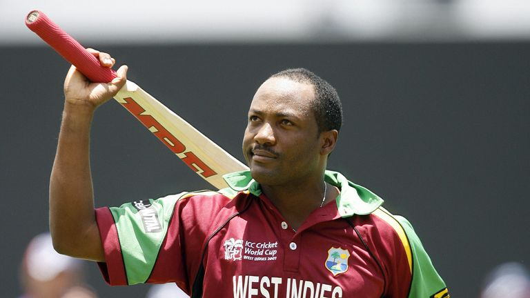 Brian Lara walks back to the pavilion after being dismissed against England in his final ODI, in 2007