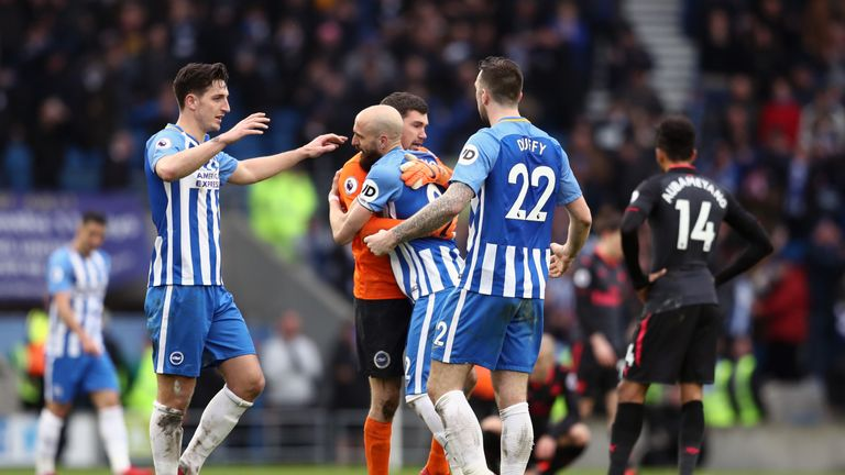 Puel thinks Brighton are now safe from relegation