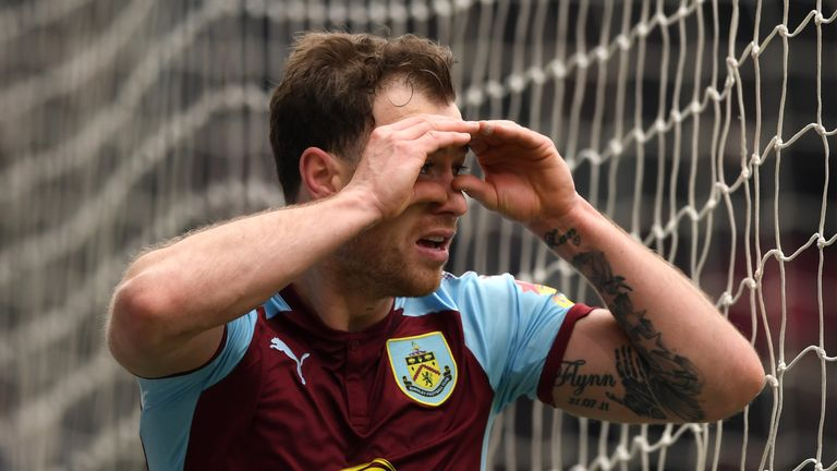 Ashley Barnes is in fine form for Burnley