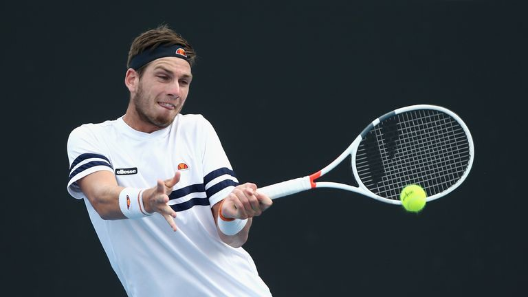 British number three Cameron Norrie came through two rounds of qualifying in Indian Wells