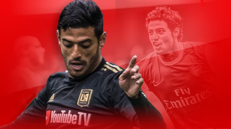 Former Arsenal striker Carlos Vela has moved to MLS aged 29