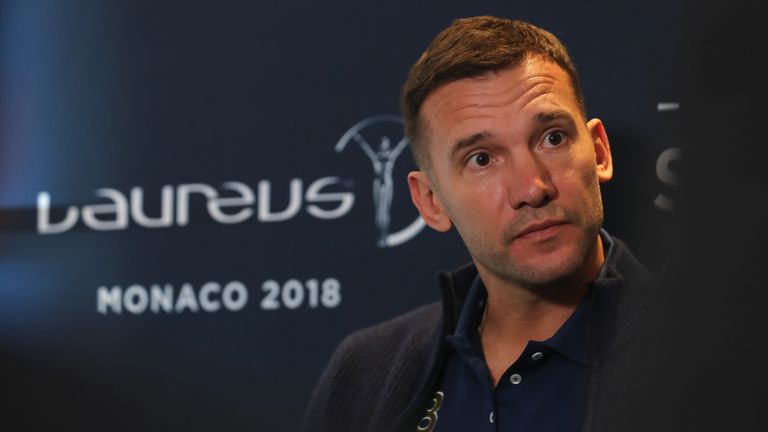 Shevchenko scored 23 goals in 77 games for Chelsea