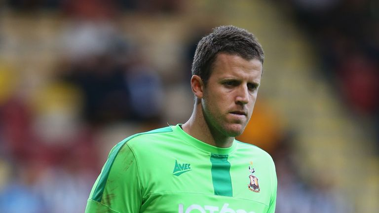 Colin Doyle spent the last two seasons with Bradford City