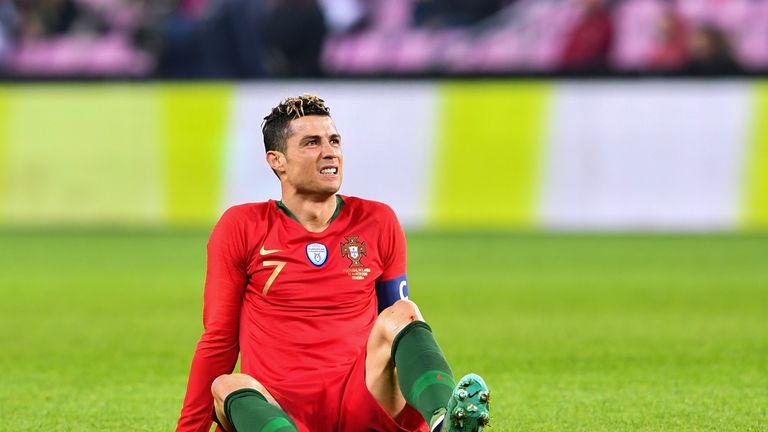 Cristiano Ronaldo endured a frustrating evening
