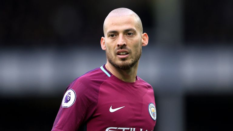 Manchester City's David Silva created two goals on Saturday
