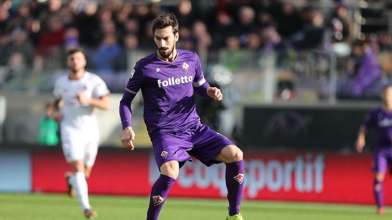 Fiorentina defender Astori died on Sunday aged 31