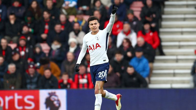 Pochettino says Dele Alli has been training normally this week