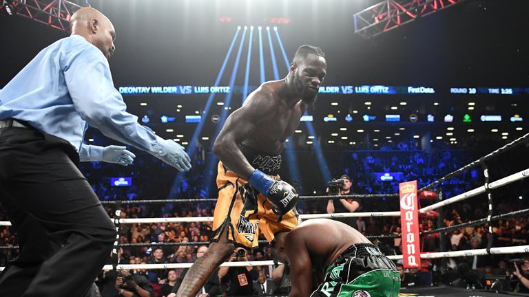 Wilder KO'd Luis Ortiz in his last fight