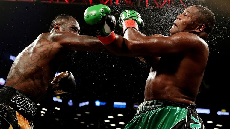 Wilder beat Luis Ortiz in his latest outing to take his career record to 40-0 with 39 knockouts