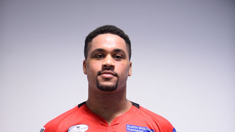 Derrell Olpherts is set to finally make his Super League debut for Salford at Widnes on Thursday