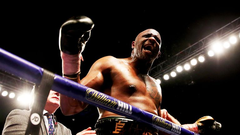 Whyte had vented his frustration as he waited for an opponent