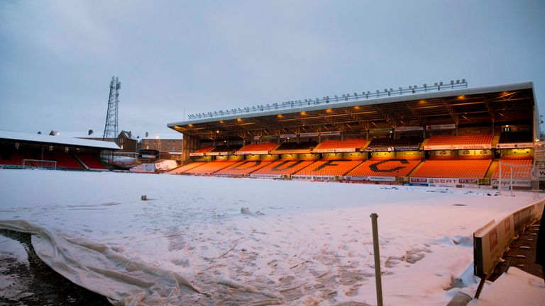 Dundee United and Queen of the South will try again at Tannadice Park next week