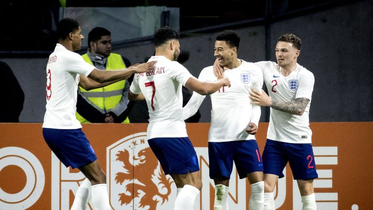 England will be in Croatia for a Nations League match in October